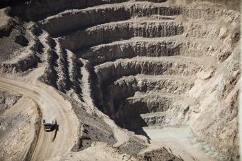 Mantos Blancos mine, Chile