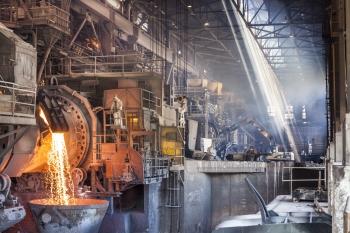 Copper processing facility, Chagres, Chile