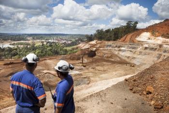 Site overview, Amapa iron ore mine, Brazil