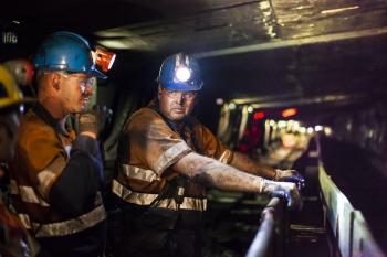 Miners working underground, Capcoal, Australia