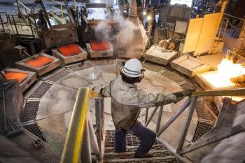 Copper processing facilty, Mantos Blancos, Chile