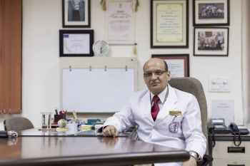 Dr Rohit Sarin, Director of the National Institute of Tuberculosis and Respiratory Diseases, New Delhi.