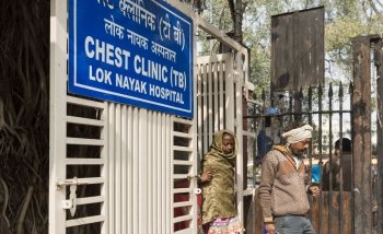The Chest Clinic (TB) at Lok Nayak Jai Prakash Narayan Hospital, DelhiDecember 2017.
