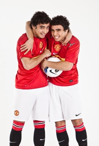 Fabio da Silva and Rafael da Silva, Manchester United