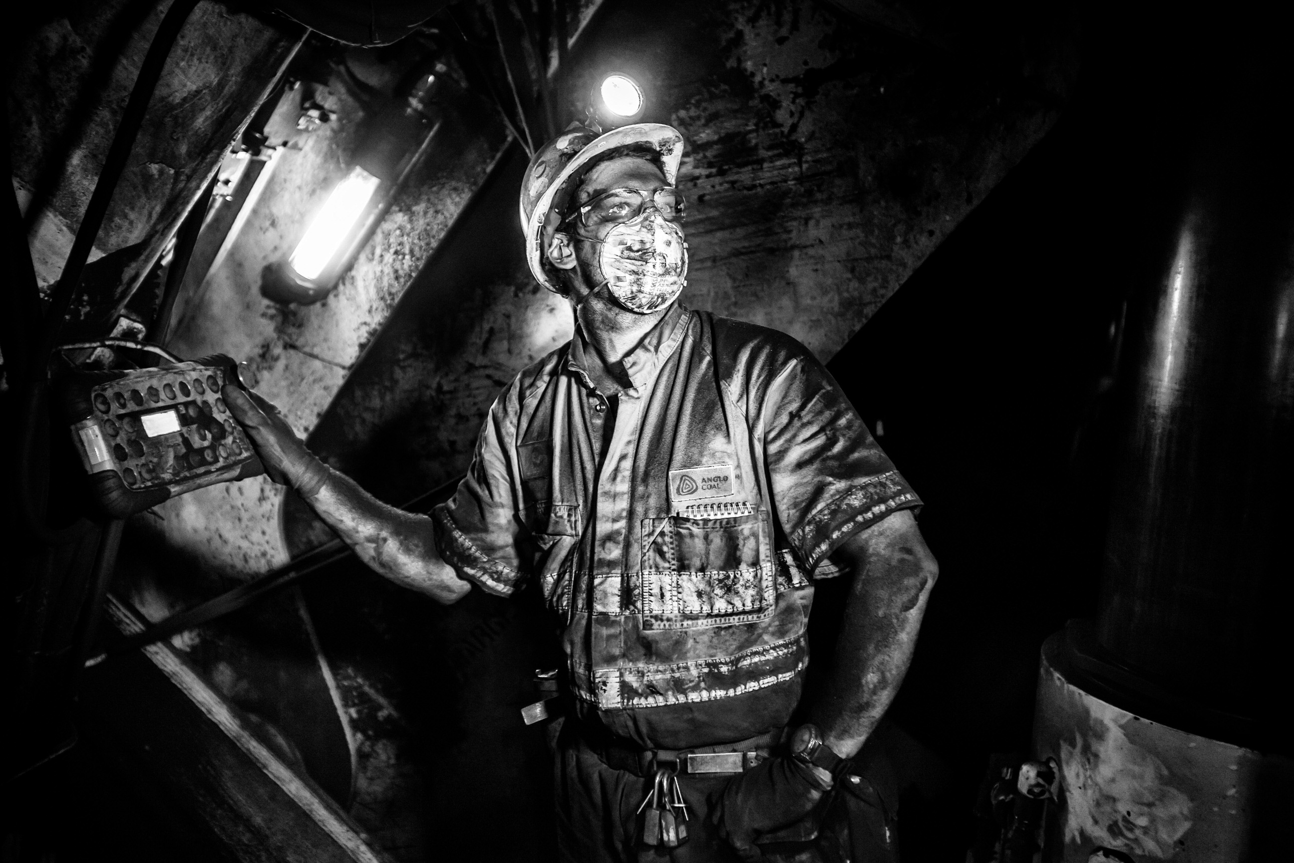 Commissioned - Mining Portraits - Ben Phillips Photography
