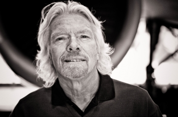 Richard Branson, East Midlands Airport