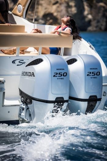 Ponza, Italy for Honda Marine
