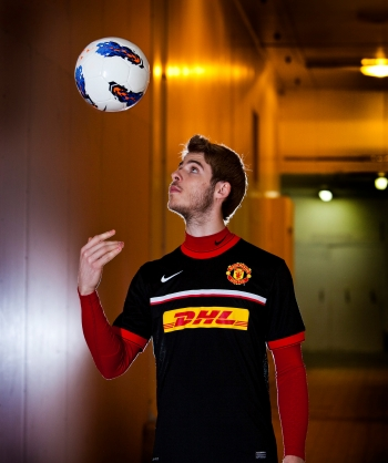 David de Gea, Manchester United, for DHL