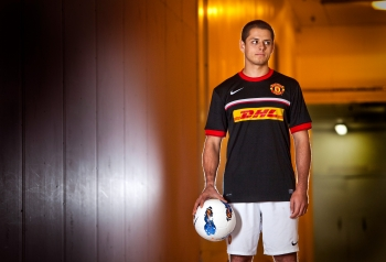 Javier Hernndez, Manchester United, for DHL