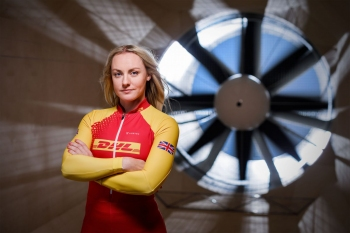 GB Women's Bobsleigh Team for DHL