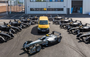 Launch for Formula E, Donnington Park