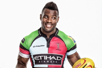 Ugo Monye, Harlequins, for DHL