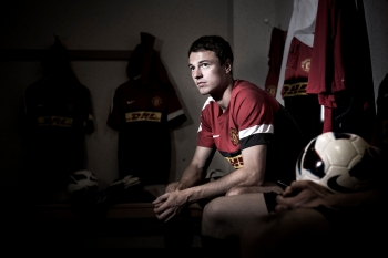 Jonny Evans, Manchester United, for DHL