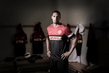 Rio Ferdinand, Manchester United, for DHL