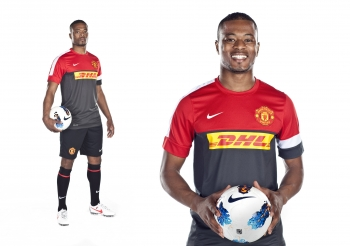 Patrice Evra, Manchester United, for DHL