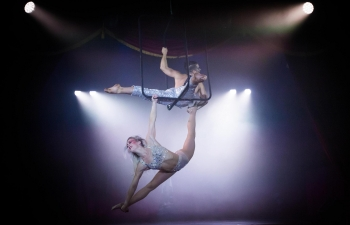Cabaret performance, London