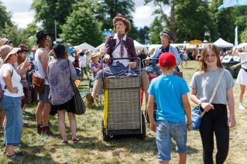 Performance artists, Cornbury Festival