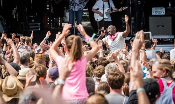 Seal, Cornbury Festival